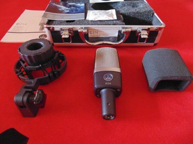 Microfone AKG C214 - Original - Made Austria - Parcelo! - Foto 2