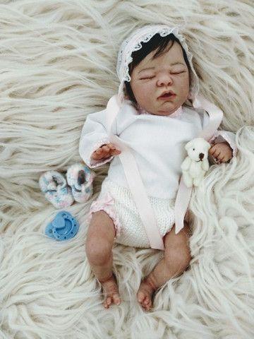 Reborn mini bebezinha pronta entrega