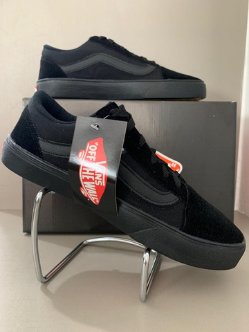 Vans old skool Preto - Foto 3