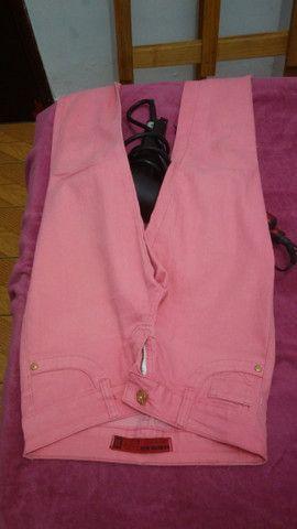 Calça jeans rosa - Foto 2