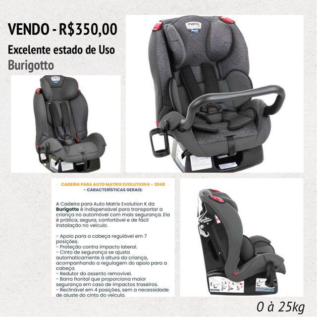 Cadeira Auto Matrix - BURIGOTTO