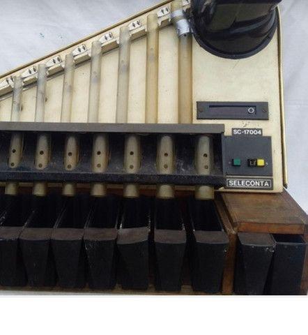 Máquina de contar moedas