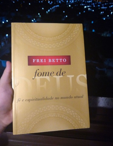 Livro Fome de Deus-Frei Betto novo, sem detalhes - Foto 4