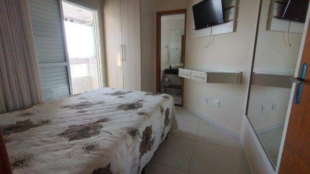 Apartamento alto padrão 3 dormitórios suítes frente mar Campo da Aviação Praia Grande - Foto 8