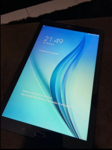 Tablet Samsung tab E sm T561m sem nenhum detalhe(parcelo no cartão)