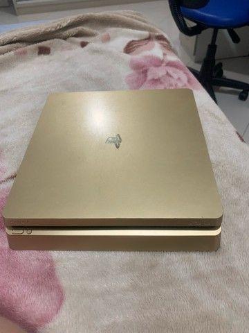 PS4 gold 1 tb edição limitada - Foto 2