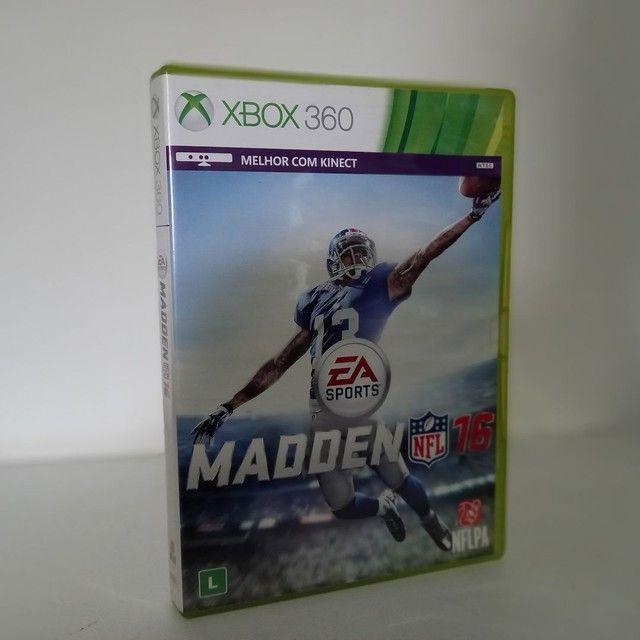Jogo Madden Nfl 16 Xbox 360 usado