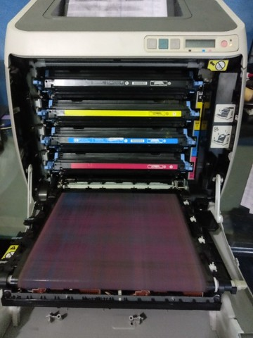 Uma Impressora HP Color LaserJet 2600n e uma Multifuncional Xerox WorkCentre 3045 - Foto 6