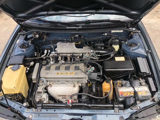 Corolla 93/93 1.8 completo 4 pneus novos roda diamantada carro todo revisado segundo dono  - Foto 12