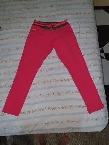 Calça feminina rosa pink
