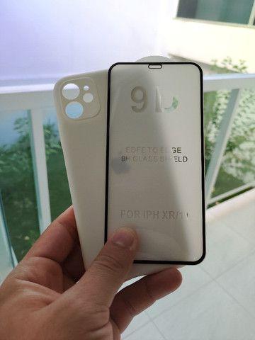 Capinhas + película Iphone 11 e 11 pro max Originais - Foto 2