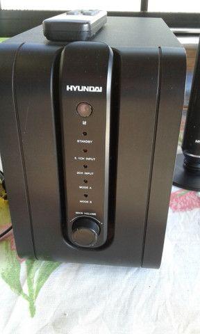 Home-Theater 5.1 da Hyundai ( a mesma da marca do carro!) som de cinema em sua casa