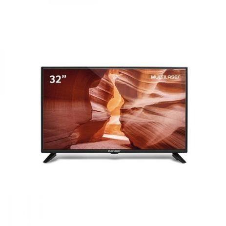Tv led 32 polegadas hd multilaser entradas hdmi usb - tl022