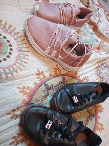 Tênis e bota infantil feminino - Foto 3