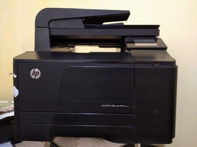 impreensora HP LaserJet Pro 200 color mfp m276nw colorid - Foto 2