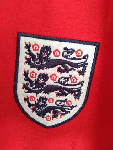 Camisa retrô Inglaterra (1966) - Ganem Sports - Foto 3