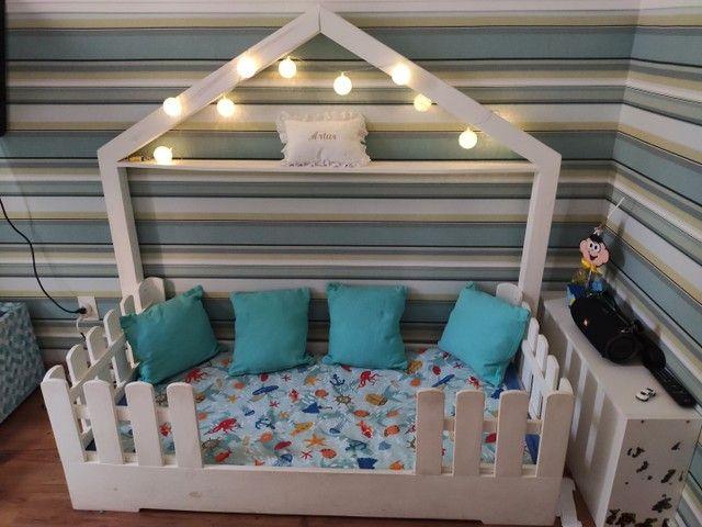 Cama Montessoriana 70x150 em madeira