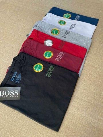 Camisa Masculino Hugo Boss  - Foto 5