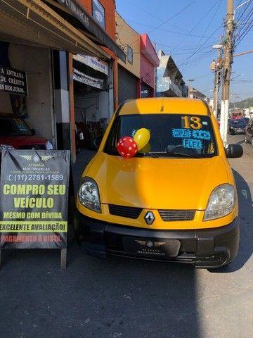 Renault Kangoo Express 1.6 Flex Completa - Baixa KM - SEM Entrada - Revisado  - Foto 7