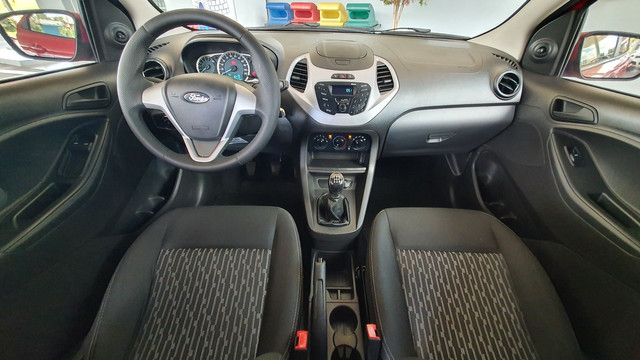 Ford Ka SE 1.0 Flex 2017 Manual Completo (IPVA pago) - Foto 12