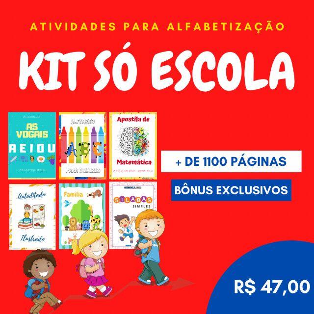 .:: Kit de Atividades Alfabetização Infantil :: - Foto 5