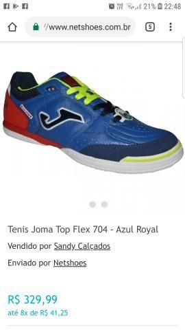 3a6cfd02f40 Chuteira de futsal Joma Top Flex 704 - Esportes e ginástica - St H ...
