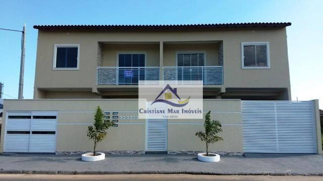 Apartamento com 2 dormitórios à venda, 57 m² por R$ 175.000 - Jardim Atlântico Leste (Itai