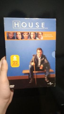 Box da Primeira Temporada de House
