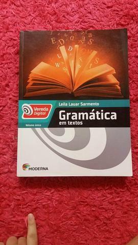 Vereda Digital - Gramática em textos - Vol. Único