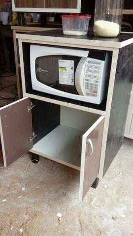 Porta microonda e forno e potes