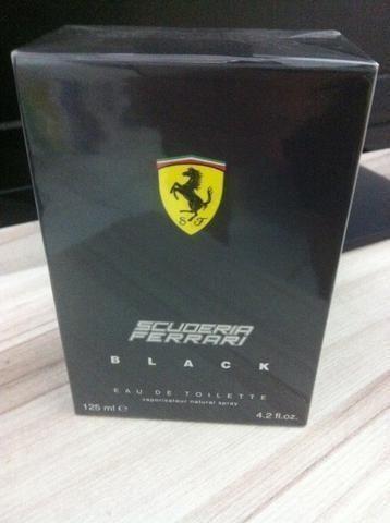 Perfume Ferrari Black 125 ml novo na caixa lacrado Importado 100% Original