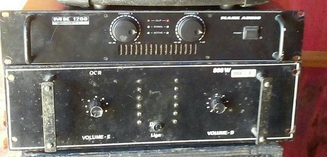 Venda ou dois amplificadores