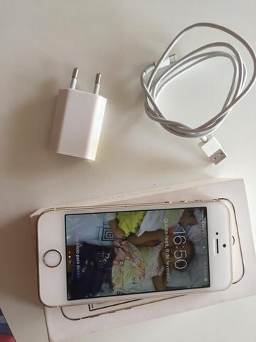Vendo iPhone 5s gooold 16gb novinho