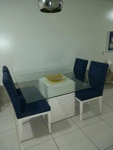 OPORTUNIDADE!!! Mesa de jantar + 4 cadeiras