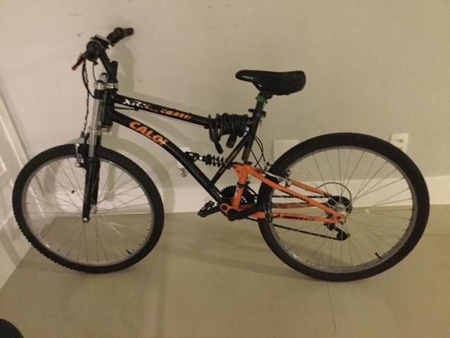 Bike Caloi XRT full susp (aceito troca)