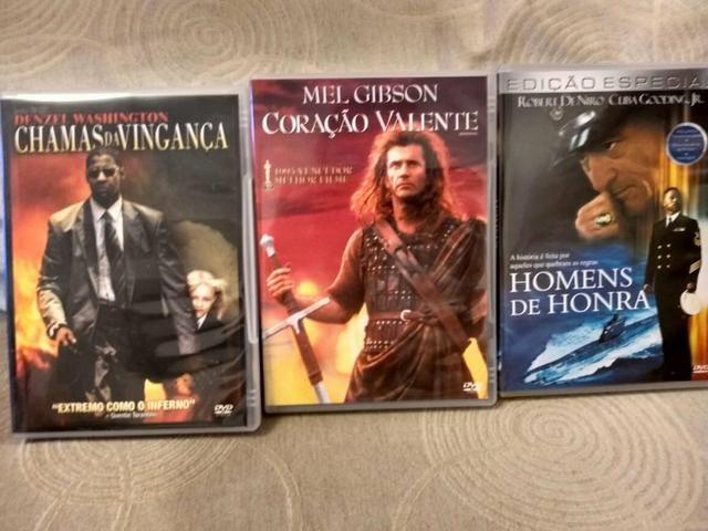 DVD de filmes novos (conjunto)