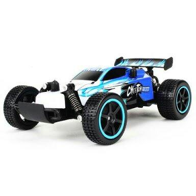 Carro de Corrida Controle Remoto - Buggy Elétrico / 2.4 GHz - 20 km/h - 2WD 1/20