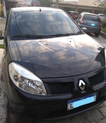Vendo Renault Sandero 1.6 8v 2009 (GNV) - Foto 2