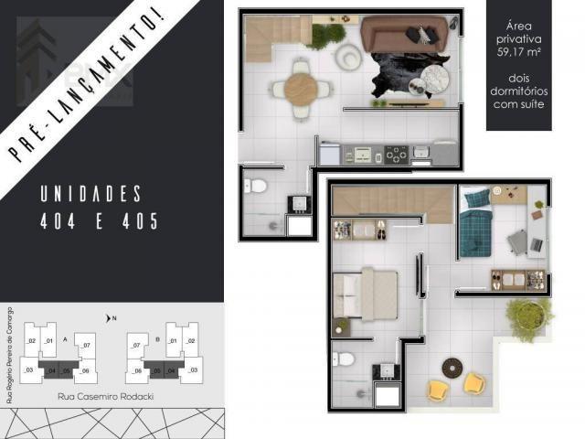 Cobertura à venda por R$ 279.900,00 - Campo Comprido - Curitiba/PR - Foto 5