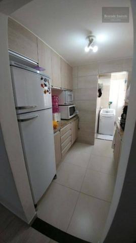 F-AP1457 Apartamento com 2 dormitórios à venda, 43 m² por R$ 139.000 no Fazendinha - Foto 6