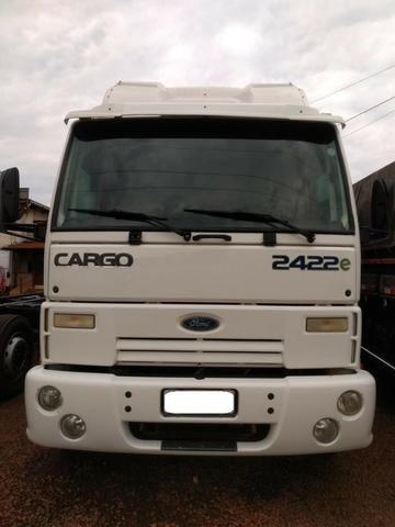 Ford Cargo 2422 cabina leito - Foto 4
