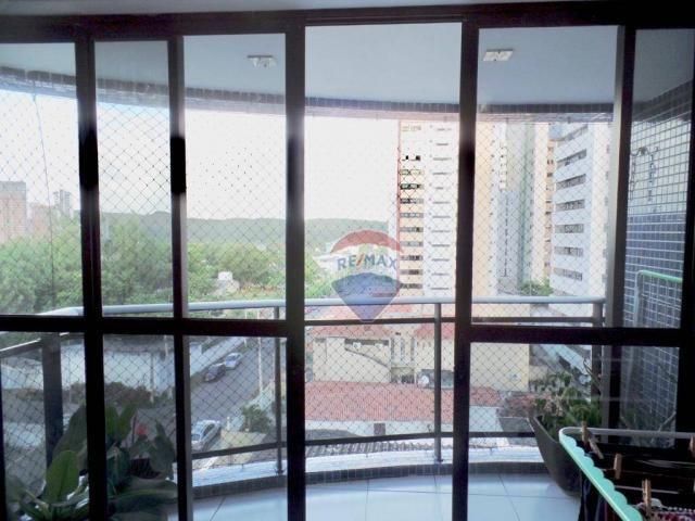 Apartamento com 3 dormitórios à venda, 97 m² por R$ 400.000,00 - Tirol - Natal/RN - Foto 5