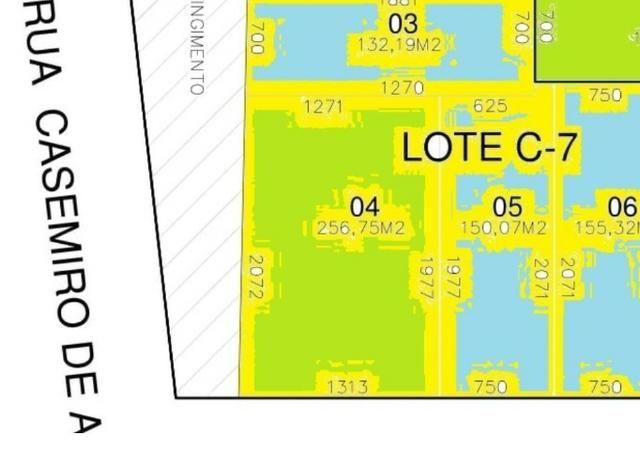 Terreno em São Marcos - Campo Largo/PR- 256m² - Entr. + Parcelas a partir de 1.874,48 - Foto 10