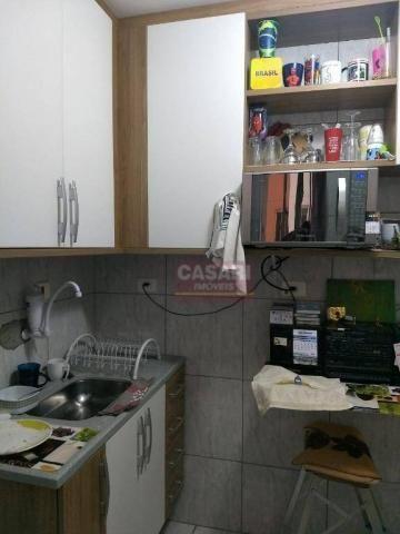 Apartamento com 2 dormitórios à venda, 55 m² por r$ 235.000 - conjunto residencial pombeva - Foto 8
