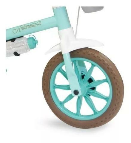 Bicicleta Aro 12 Nathor Feminina c/ Selim de Espuma - Foto 3