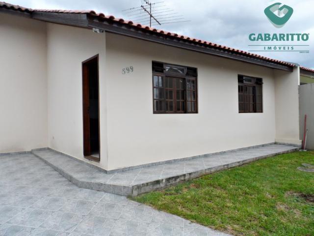 Casa à venda com 3 dormitórios em Silveira da motta, Sao jose dos pinhais cod:91146.001