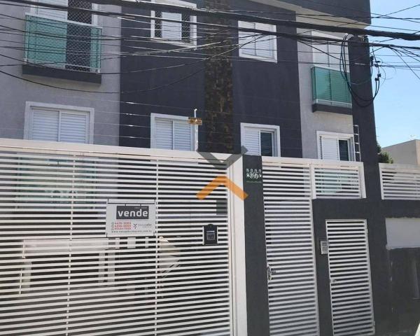 Cobertura com 2 dormitórios à venda, 46 m² por R$ 250.000,00 - Vila Humaitá - Santo André/