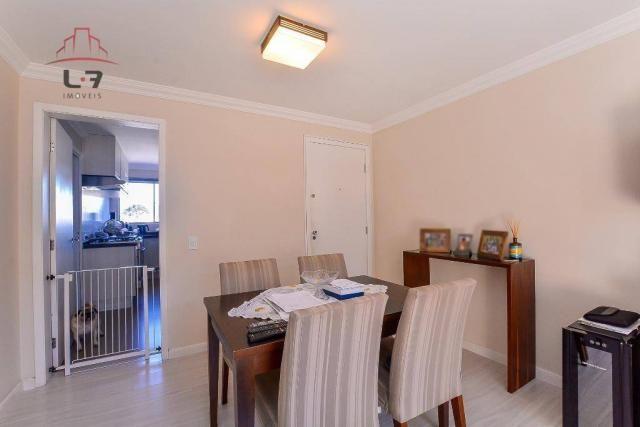 Apartamento com 3 dormitórios à venda, 79 m² por R$ 310.000,00 - Bacacheri - Curitiba/PR - Foto 7