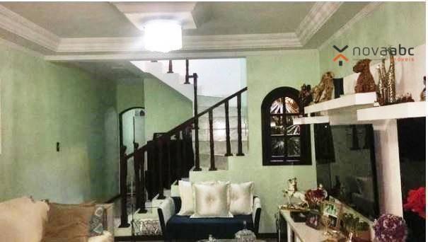 Sobrado com 3 dormitórios à venda, 220 m² por R$ 590.000 - Parque Marajoara - Santo André/ - Foto 4