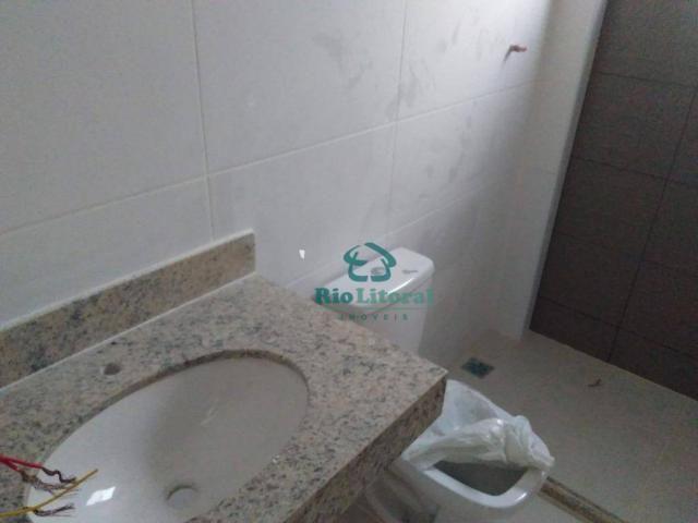 Casa com 3 dormitórios à venda, 115 m² por R$ 370.000 - Ouro Verde - Rio das Ostras/RJ - Foto 17